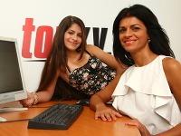Silvia a Vanessa Šarköziové boli online.