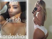 Kim Kardashian vydáva knihu s vlastnými fotografiami z mobilného telefónu. Na selfie sa predvedie v prevažne dráždivých pózach.
