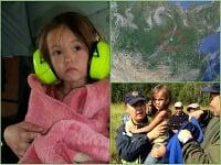Karinu (3) po 11 dňoch v sibírskej tajge zachránilo jej šteniatko.