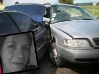 Reportérke Jane Sotonovej sa stal osudným bočný náraz. V striebornom aute sedela na mieste spolujazdca.