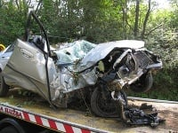 Dopravná nehoda medzi obcami Sučany a Podhradie