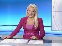 Aneta Parišková v Novinách o 17:00 neudržala smiech.
