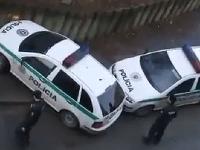 Takto zaparkovali policajti v Banskej Bystrici