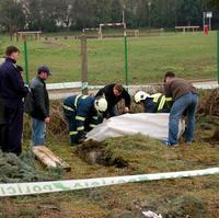 Osemnásťročná Kristínka spadla do takejto nezabezpečenej jamy v centre mesta.