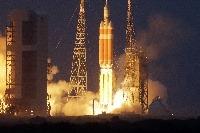 Vesmírna loď Orion na druhý pokus odštartovala