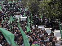 Prehliadka na počesť výročie Hamasu