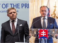 Robert Fico a prezident Andrej Kiska