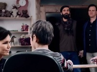 Nataša Žembová účinkovala aj v klipe Aliancie za rodinu.