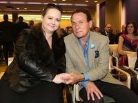 Jan Saudek a jeho manželka, novinárka Pavla Hodková