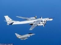 Britské stíhačky vzlietli proti ruským bombardérom