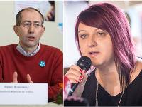 Hovorca Aliancie za rodinu Peter Kremský a Jana Jablonická Zezulová z Iniciatívy Inakosť