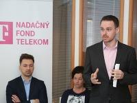 Nástroje na poli bezpečnosti detí na internete predstavil Martin Vidan zo spoločnosti Telekom.