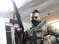 Slovenský vojak v službách oddielu Azov