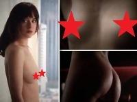 Dakota Johnson sa pred kamerami objavila úplne nahá.