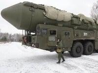 Ruská raketová technika Topol - Ilustračné foto