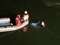 Fotografia z nočnej záchrannej akcie