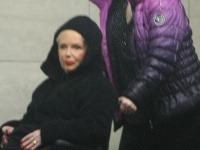 Marika Gombitová po vystúpení v novej budove SND.
