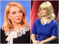 Petra Polnišová si v zábavnej šou Kredenc zahrala herečku Zdenu Studenkovú.