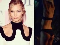 Karlie Kloss vo videoklipe zo seba zhodila šaty.