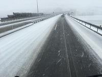 Dopravný situácia na diaľnici R1 pri Nitre