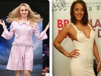 Barbora Rakovská sa ukázala v čudných šatách a speváčka Layla prevetrala prsia.