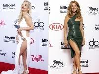 Speváčky Rita Ora a Céline Dion pretŕčali na červenom koberci svoje stehienka.