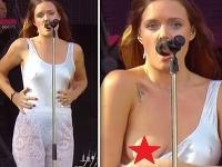 Tove Lo nie je žiadna hanblivka. Fanúšikom na svojom koncerte ukázala nahý prsník.