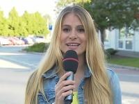 Adriana Špronglová hlásila v markizáckom Teleráne Dopravný servis.