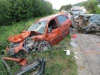 Vážna dopravná nehoda v obci Bzince pod Javorinou