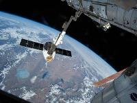Pohľad z vesmírnej stanice ISS