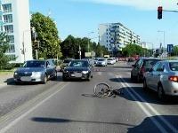 Nehoda na Tomášikovej ulici