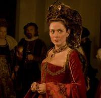 Alžbeta Báthoryová ztvárnená vo filme.