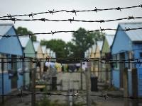 Ilustračné foto z tábora pre utečencov v Debrecíne.