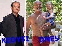 Seriálový Frasier sa v priebehu rokov takto zmenil.