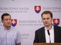 Daniel Lipšic a Igor Matovič