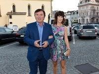 Pavel Trávniček a Monika Fialková