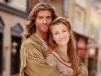 Joe Lando a Jane Seymour v seriáli