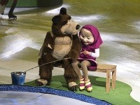 šou Máša a medveď