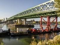 Dokončovanie bratislavského Starého mosta