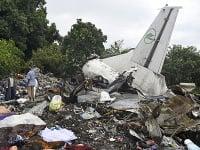 Havária lietadla v Južnom Sudáne