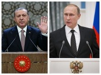 Recep Tayyip Erdogan a Vladimir Putin