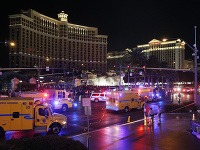 Auto vrazilo do chodcov v Las Vegas