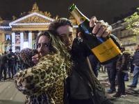 Aj napriek zrušenému ohňostroju sa v Bruseli poriadne zabávali