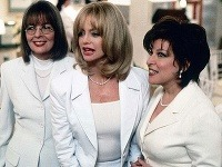 Diane Keaton, Goldie Hawn a Bette Midler stvárnili vo filme Klub odložených žien podarenú trojicu.
