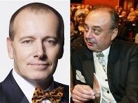 Boris Kollár a Peter Kovarčík - známi slovenskí boháči