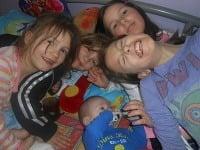 Vierka má deväť detí, najstarší syn má 17 rokov, najmladší rok