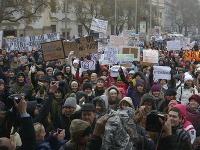 štrajk učiteľov