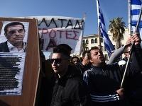 Gréci protestujú proti reforme dôchodkového systému