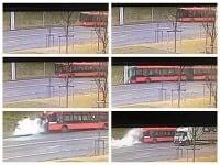 Havária autobusu mestskej hromadnej dopravy