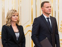 Exministerka Zvolenská a minister zdravotníctva Čislák